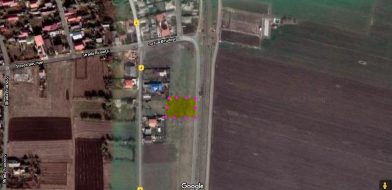 TUZLA - Cartier Barbosu, teren intravilan cu deschidere mare!