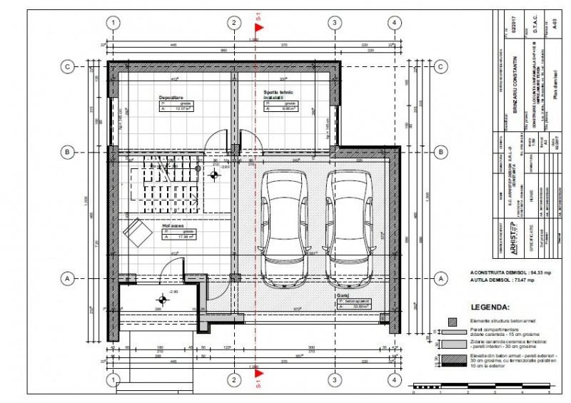 Ovidiu – Lac – Promenada – Proiect deosebit - D+P+1Et.