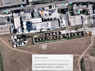 ZONA INDUSTRIALĂ - Teren intravilan 5000 mp!